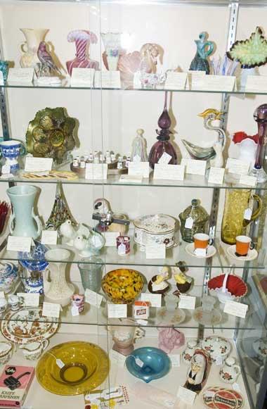 Egg Palace Antiques Glassware